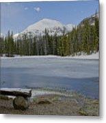 Peaceful Rocky Mountain National Park Metal Print