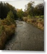 Peaceful Stream Metal Print