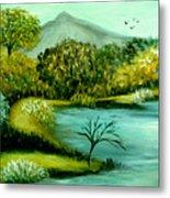 Peaceful  Waters 2 Metal Print
