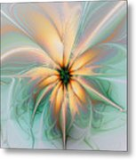 Peach Allure Metal Print