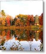 Peak Autumn Reflection 7 Metal Print