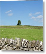 Peak District Landscape Metal Print