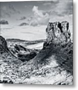 Peak Of Imagination Metal Print