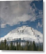 Peak Reflections Metal Print