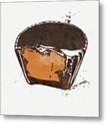 Peanut Butter Cup Metal Print
