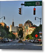 Pearl And Main Street Metal Print
