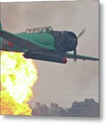 Pearl Harbor Reenactment Metal Print