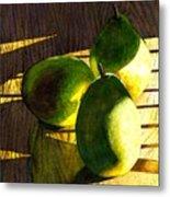 Pears No 3 Metal Print