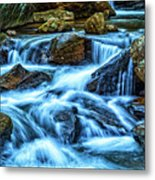 Pearsons Falls On Colt Creek Metal Print