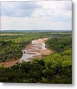 Pease On The River Metal Print