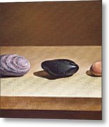 Pebbles On Parade Metal Print
