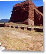 Pecos Mission New Mexico - 2 Metal Print