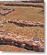 Pecos National Monument - 3 Metal Print