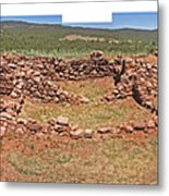 Pecos National Monument - 4 Metal Print