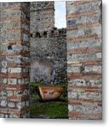 Peek Into The Past - Pompeii Metal Print