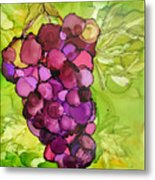 Peel Me A Grape Metal Print