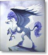 Pegasus Unchained Metal Print