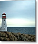 Peggy's Cove Lighthouse - Photographers Collection Metal Print