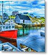 Peggy's Two Metal Print