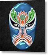 Peking Opera Face-paint Masks - Zhongli Chun Metal Print