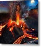 Pele - Volcano Goddess Metal Print