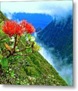 Peles Flower Metal Print