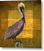 Pelican Poetry Metal Print