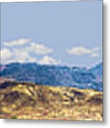 Peloncillo Mountains Panorama Metal Print