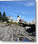 Pemaquid Light Metal Print