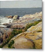 Pemaquid Point Metal Print