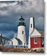 Pemaquid Point Lighthouse 4821 Metal Print