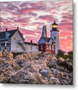 Pemaquid Point Lighthouse  Metal Print