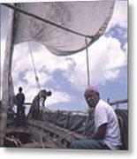 Pemba Boat Metal Print
