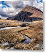 Pen Yr Ole Wen Mountain Metal Print