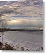 Pend D'oreille Lake Panorama Metal Print