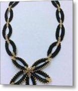 Pendant With Beads 1 Metal Print