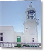 Pendeen Lighthouse Cornwall Metal Print