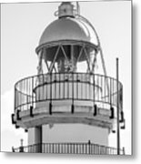 Peniscola Lighthouse Of Spain Metal Print
