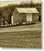 Pennsylvania Barn Metal Print