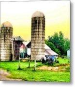 Pennsylvania Farming  Metal Print