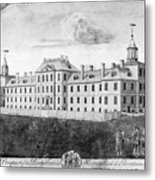 Pennsylvania Hospital, 1755 Metal Print by Granger