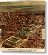 Pennsylvania Station 1910 Metal Print