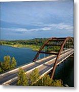 Pennybacker Bridge 1 Metal Print