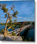 Pennybacker Bridge 2 Metal Print