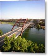 Pennybacker Bridge Metal Print
