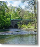 Pennypack Creek Bridge Built 1697 Metal Print