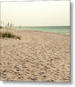Pensacola Beach 2 Panorama - Pensacola Florida Metal Print