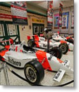 Penske Racing Indy 500 Hall Of Fame Museum Metal Print