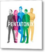 Pentatonix New Album Cover Metal Print