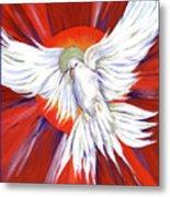 Pentecost Dove Metal Print